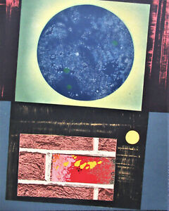 MAX ERNST - DENT PROMPTE POEM DE RENE CHAR VII - LITHOGRAPH 1969 - FREE SHIP US