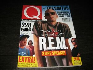 Q Magazine (228 Pages) The Smiths R.E.M. Cranberries Nº 97 October 1994
