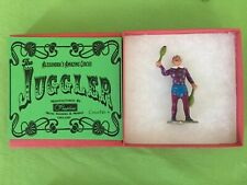 Circus Figure - Juggler recast boxed & painted, Charbens,Britains,Crescent