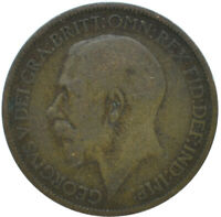1924 HALF PENNY OF GEORGE V.     #WT15643