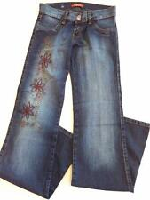 Women's Studio F Embroidered Studded Denim Jeans NWT ($102 USD)