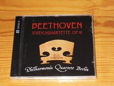 BEETHOVEN - PHILHARMONIA QUARTETT BERLIN / THOROFON 2-CD-SET 2013 OVP! NEW!