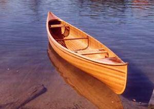 Wie Zu Gebaut 5.5m Zeder Streifen Kanu Pläne, Muster und Anleitung