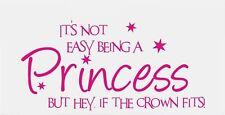 princess fairy funny girls vinyl car sticker wall art fun pink vw ford vauxhall