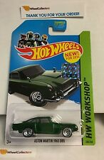 Aston Martin 1963 DB5 #200 * GREEN * 2014  Hot Wheels Factory Set * E31