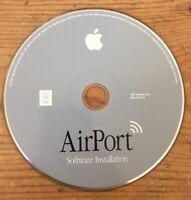 2001 Macintosh Mac AirPort Utility Software Installation CD-ROM Version 2.0 Disc
