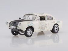 """Scale model 1/18 1951 Kaiser Henry J Gasser White """"Fistfull"""""""
