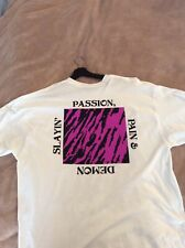 Kid Cudi x Off White; Passion Pain Demon Slayin; Pre-Owned;Size XXL