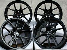 """ALLOY WHEELS X 4 18"""" BLACK GTO FOR 5X108 LAND ROVER RANGE ROVER EVOQUE VELAR"""