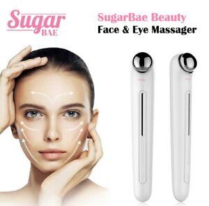Pulse Facial Face Eye Massager Lift 3D Roller Electric Sonic Energy Rejuvenation