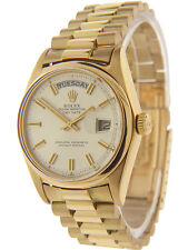 Rolex Day-Date Vintage President 18K Yellow Gold 1803 Men's 36mm