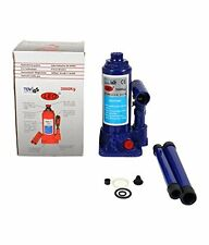 LEO 3 Ton Hydraulic Bottle Jack (Standard for All Vehicles) Blue/Red
