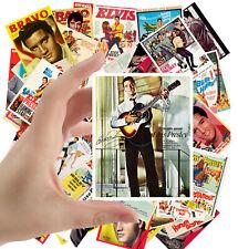"Stickers pack [24 stkrs 2.5""x3.5""ea] Vintage Elvis Rock Music Posters Ads 5002"