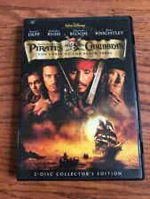 Pirates Of The Caribbean The Curse Of The Black Pearl Two Disc Special Edition