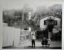 FRANCE PARIS 1900 MONTMARTRE ENFANTS RETIRAGE  ARGENTIQUE 30X40