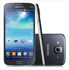 Débloqué Téléphone Samsung Galaxy Mega 5.8 GT-I9152 8GB Dual SIM GPS NFC - Noir