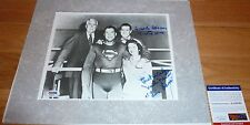 PSA/DNA SUPERMAN JACK LARSON & NOEL NEILL AUTOGRAPHED-SIGNED 8X10 PHOTO AA16795