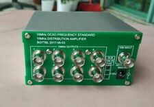 OCXO benchmark frequency standard 8 port output 10MHz Distribution amplifier