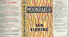 IAN FLEMING - MOONRAKER - RARE UK 1955 1ST w/DJ