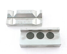 FCM3661 Aeroquip Aluminum Vise Jaw Inserts Magnetic Back For AN Hose Assembly