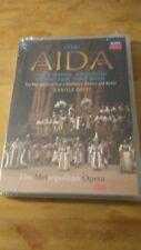 Verdi Aida Dvd Sealed. Decca. Metropolitan Opera, chorus & ballet. Daniele Gatti