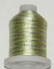 "Fishing Rod Winding Thread Green / Yellow Variegated ""A"" Repairs Rod Building"