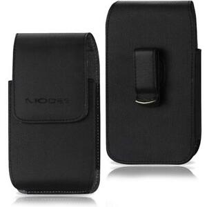 Phones Leather Vertical Case Pouch Belt Clip Loop Holster XL Fits Otterbox Cover