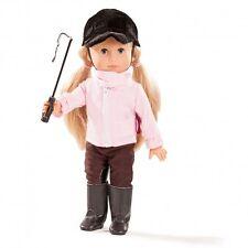 Götz Puppe Just Like Me Mia reitet 27cm 1613026 Blonde Haare Blaue Augen Neu Ovp