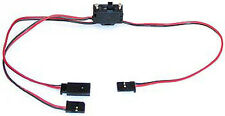 REGOLATORE rs558 interuttore on off Switching Harness Lead Futaba type