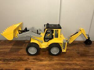 Battat Driven Backhoe Loader Construction Digger Vehicle