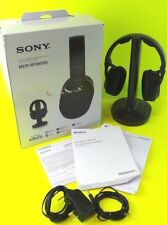 Used Sony MDR-RF995RK Wireless Stereo Headphones Headset System in Box #77G