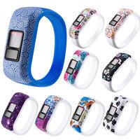 KQ_ For Garmin Vivofit JR JR2 Vivofit 3 Replacement Silicone Wrist Watch Band St