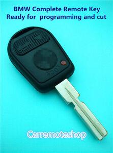 BMW 3 Button Complete remote key For E31 E32 E38 E39 E36 Z3 M3 E46