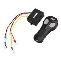100ft/12V Wireless Winch Remote Control Kit Switch Handset For Car/ATV/SUV/UTV