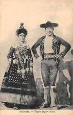 Segorvia Spain Typical Segorvianos Antique Postcard J55281