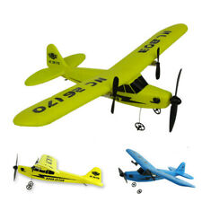 2.4G 2CH Cool EPP Foam Remote Control RC Helicopter Plane Glider Airplane Toy US