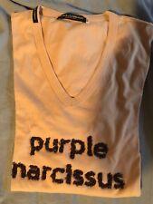 T Shirt A Maniche Lunghe Dolce&Gabbana Prima Linea Uomo Purple Narcissus