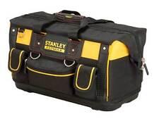 STANLEY FatMax sta171180 18in BOCCA APERTA Rigido Strumento Tote Bag FMST 1-71180 NUOVO