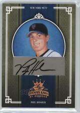 2005 Donruss Diamond Kings Bronze Signatures /25 Phil Humber #446 Rookie Auto