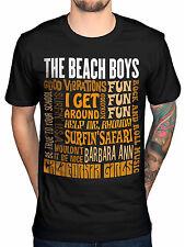 Official The Beach Boys Best Of SS T-Shirt Pet Sounds Surfin' USA All Summer Lon
