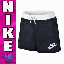 Nike Women's Size Small Sportswear Mesh Shorts 848525 Black/White