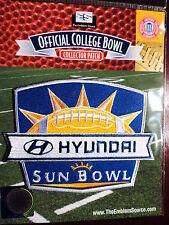 NCAA College Football Bowl 2011/12 Hyundai Sun Bowl Patch Georgia Tech Utah