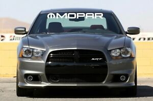 "MOPAR SOLID Letters Windshield Banner Decal 4"" x 38"""