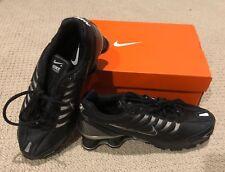 NEW NIKE SHOX TURBO+ VI BLACK/Grey/Sliver MEN'S 7 Running Shoes [318161 904]