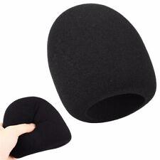 Pop Filter Windscreen Microphone Sponge Foam Cover For Blue Yeti Pro Mic Black
