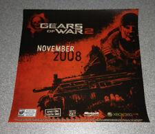 Gears of War 2      Window Cling        NEW               GOW 2