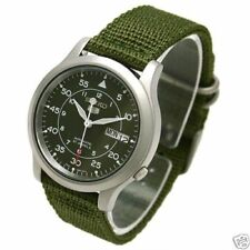 NEW SEIKO MILITARY Nylon SNK805K2 Watch