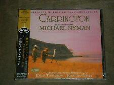 Carrington Soundtrack Michael Nyman Japan CD sealed