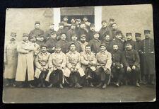 A0108 - Photo soldats 1914-1918 officiers 93e Régiment d'Infanterie et 50e R.I.T