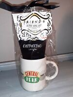FRIENDS TV Show Central Perk Gift Set Mug Cup Latte 14oz NEW Cappuccino Coffee